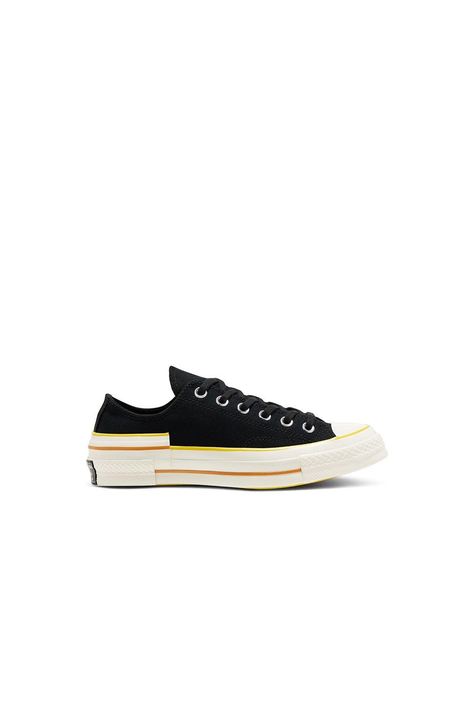 Converse Chuck Taylor Hacked Heel Low Black/Speed Yellow
