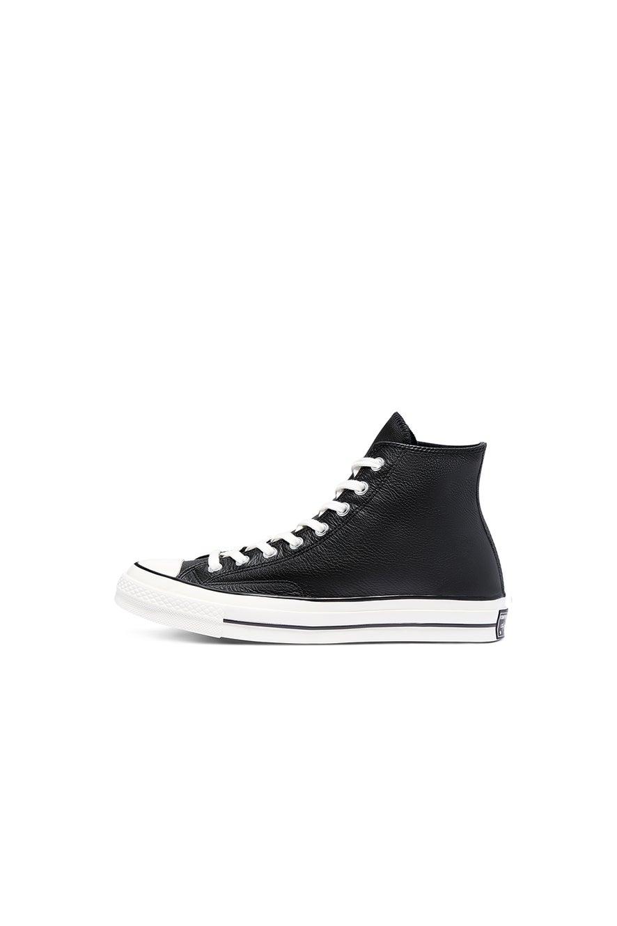 Converse Chuck Taylor 70 Leather Hi Top Black/Egret