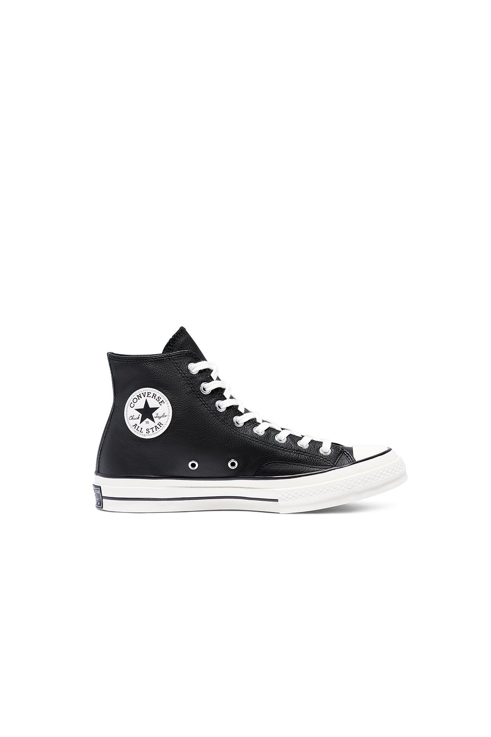 Converse Chuck Taylor 70 Leather Hi Top Black/Egret