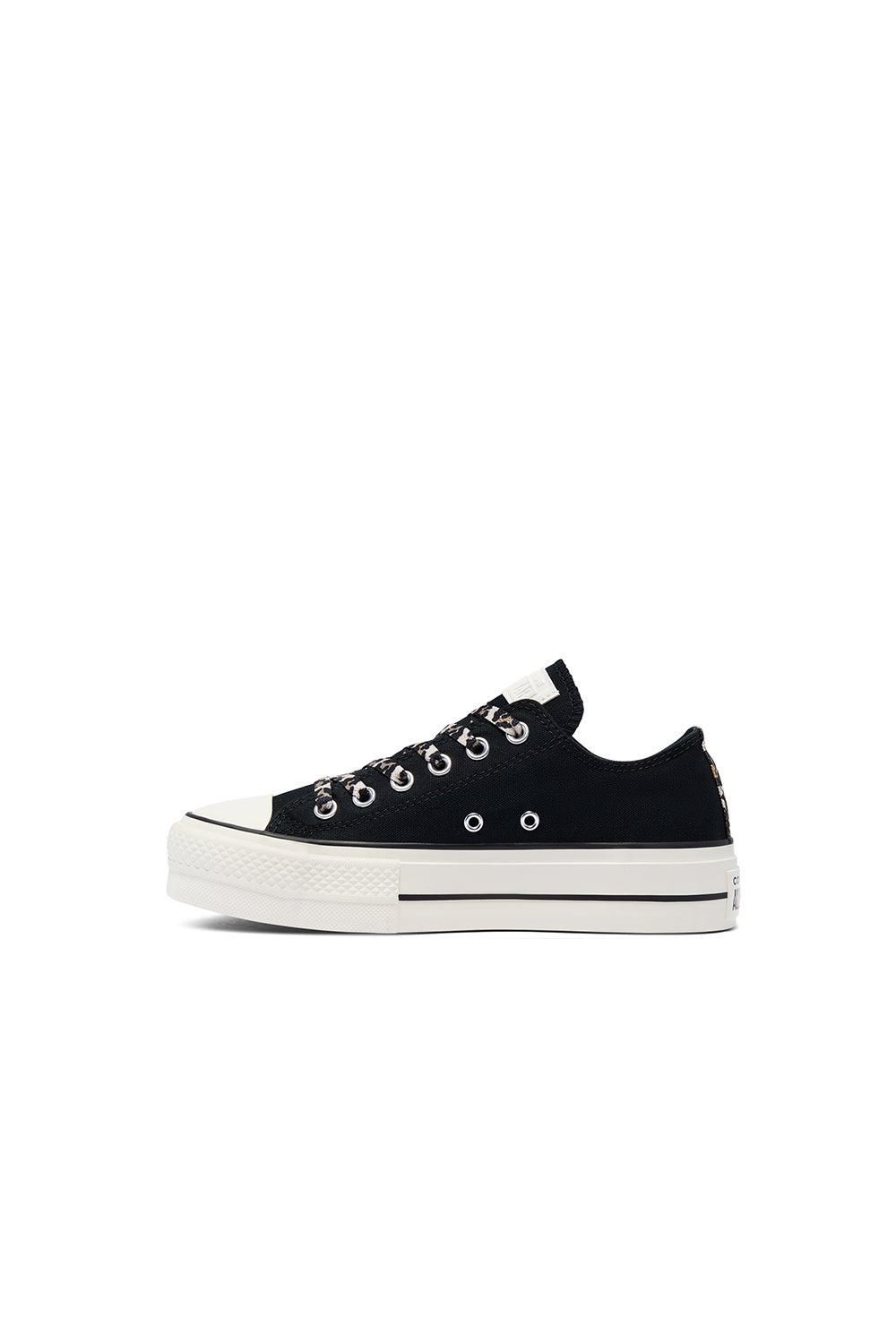 Converse Chuck Taylor Lift Archive Print Low Top Black