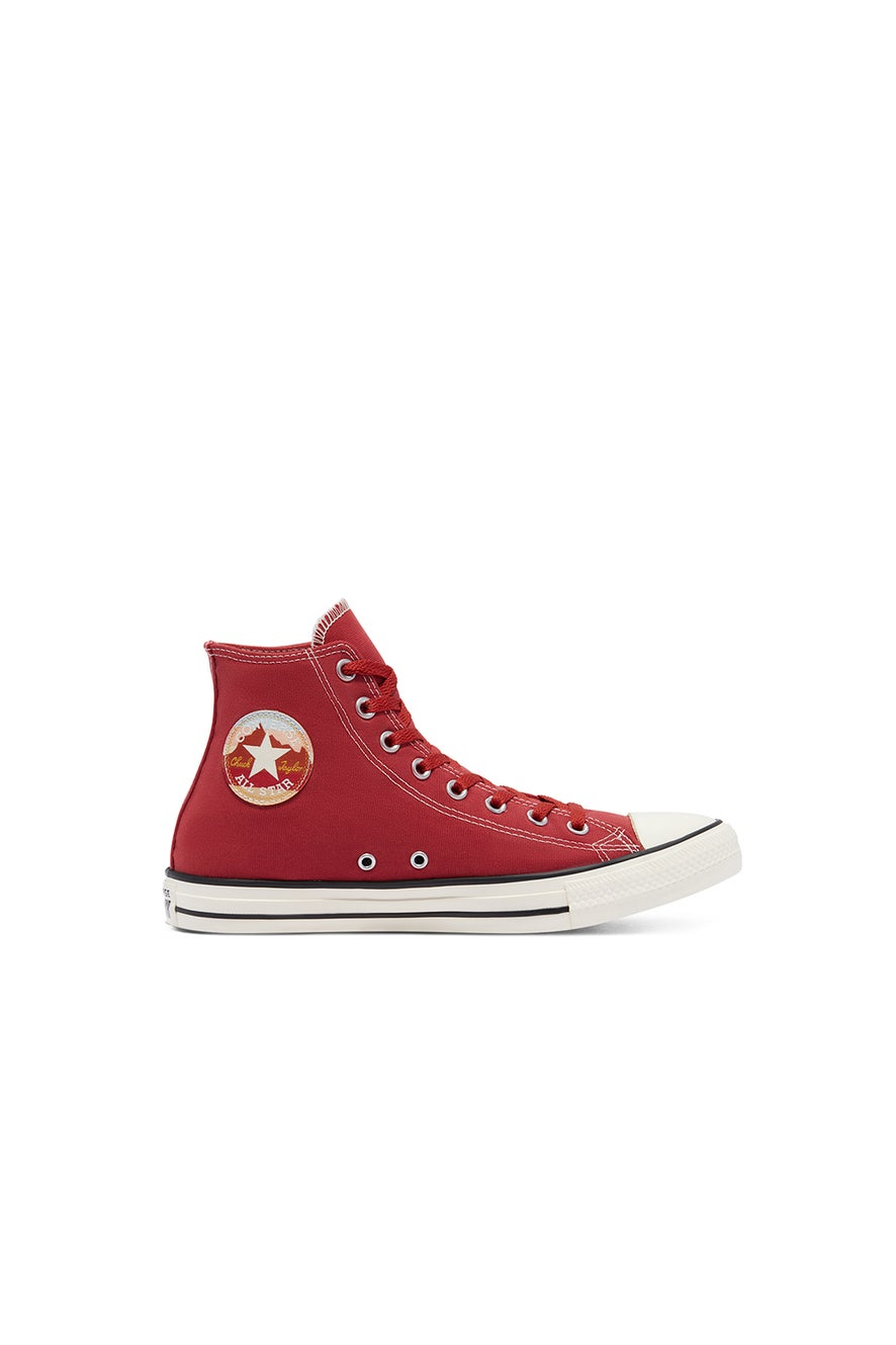 Converse Chuck Taylor All Star National Parks Patch High Top Claret Red