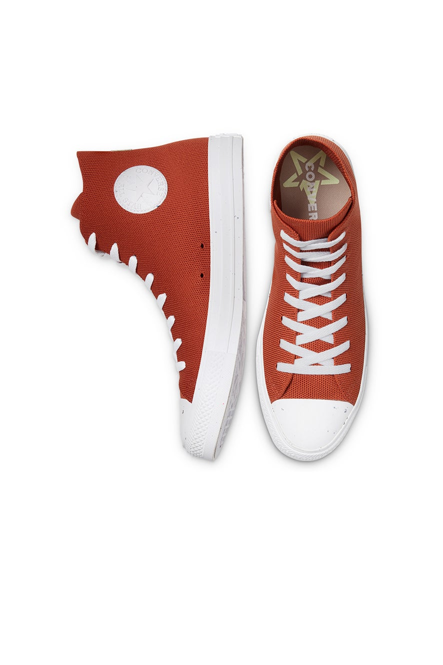Converse Chuck Taylor All Star Renew Knit High Top Red Bark