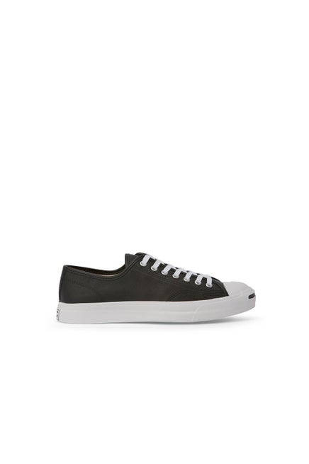 Converse Jack Purcell Foundational Leather Low Top Black