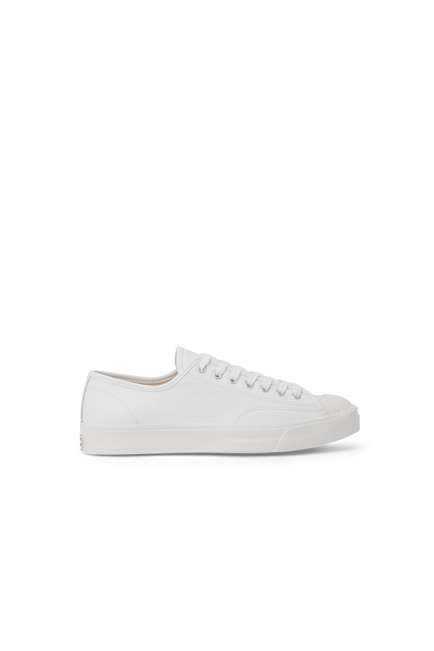 Converse Jack Purcell Foundational Leather Low Top White