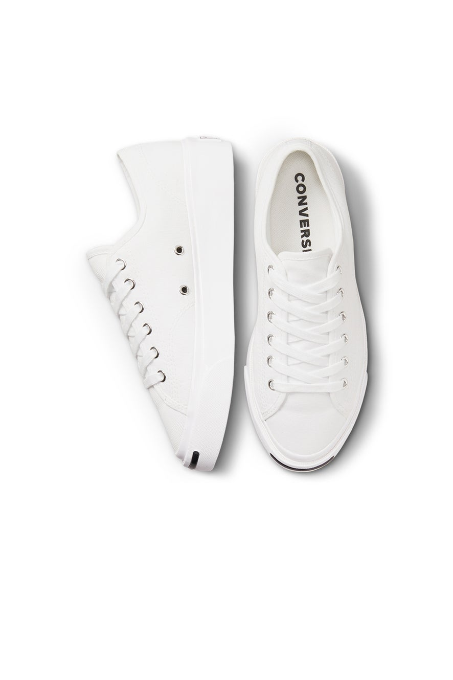 Converse Jack Purcell Jackie Testured Low Top White