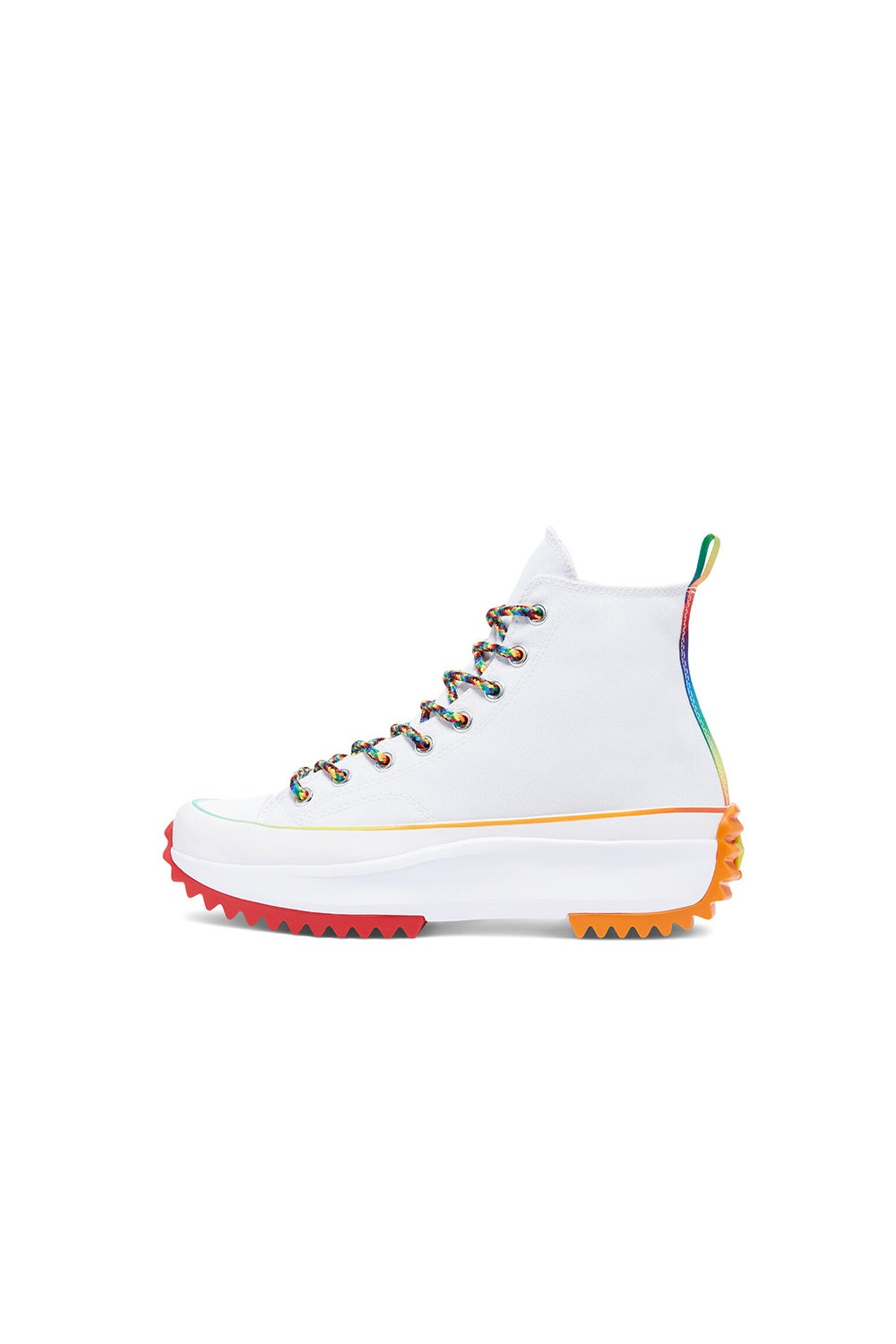 Converse Run Star Hike Find Your Pride High Top White/Multi/White