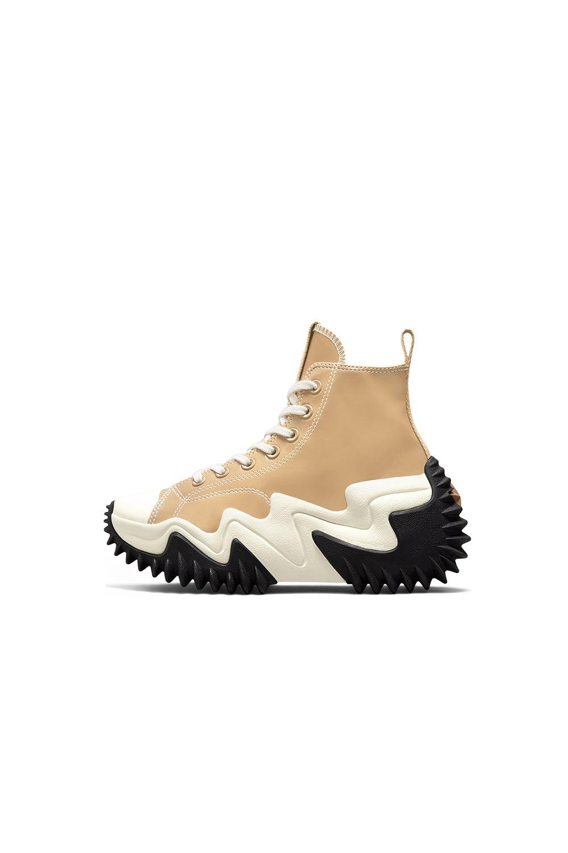 Converse Run Star Motion CX Patent Leather Nomad Khaki/Black/White