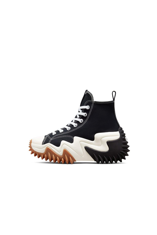 Converse Run Star Motion CX Platform Black/White/Gum Honey