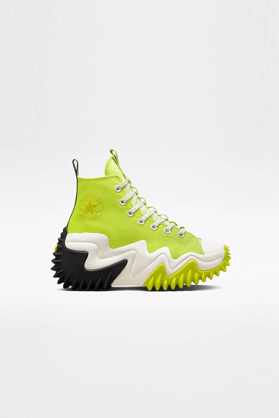 Converse Run Star Motion Platform High Top Lime Twist