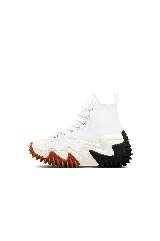 Converse Run Star Motion Platform White/Black/Gum Honey
