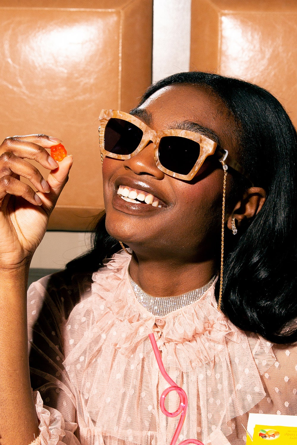 Coveteur x Karen Walker Blessed Caramel Marble