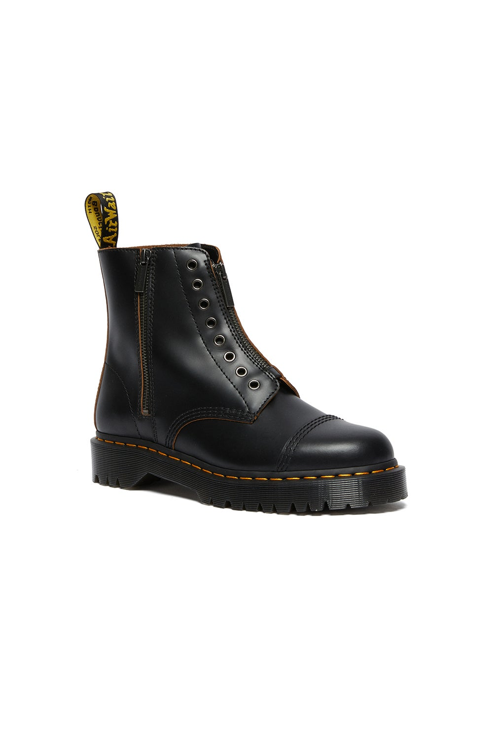 Dr. Martens 1460 LL Bex 8 Eye Boot Vintage Smooth Black