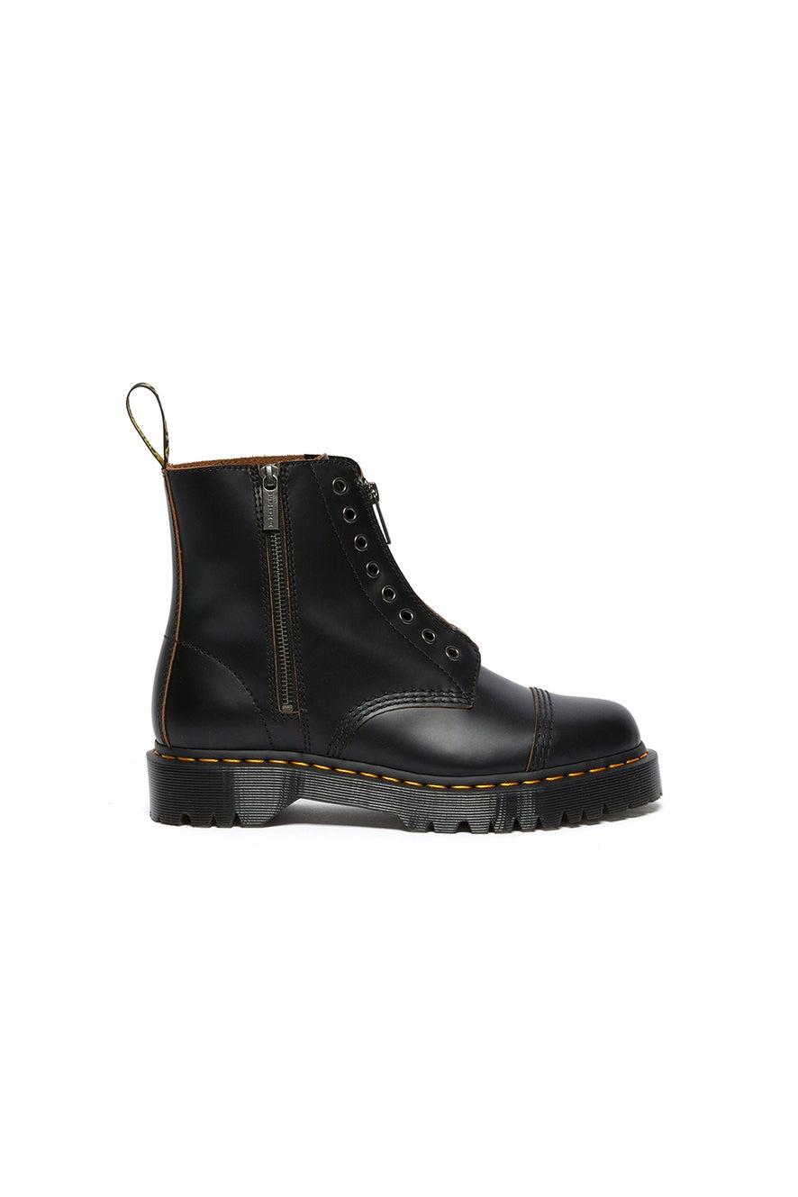 Dr. Martens 1460 LL Bex 8 Eye Boot Vintage Smooth Black