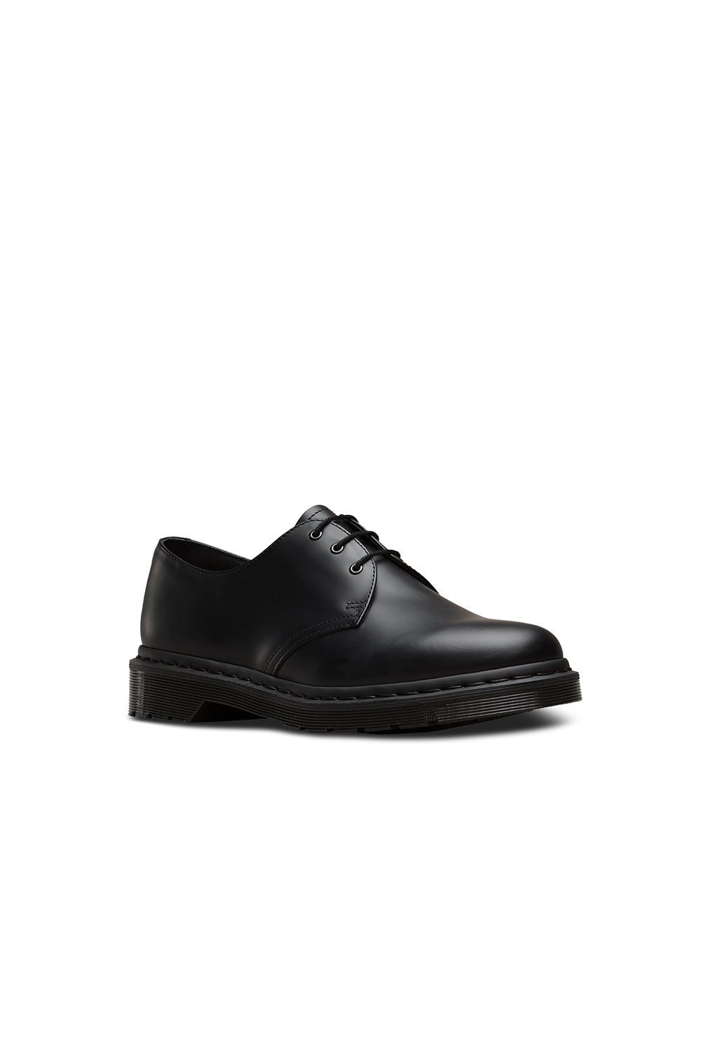 Dr. Martens 1461 Mono 3 Eye Shoe Smooth Black