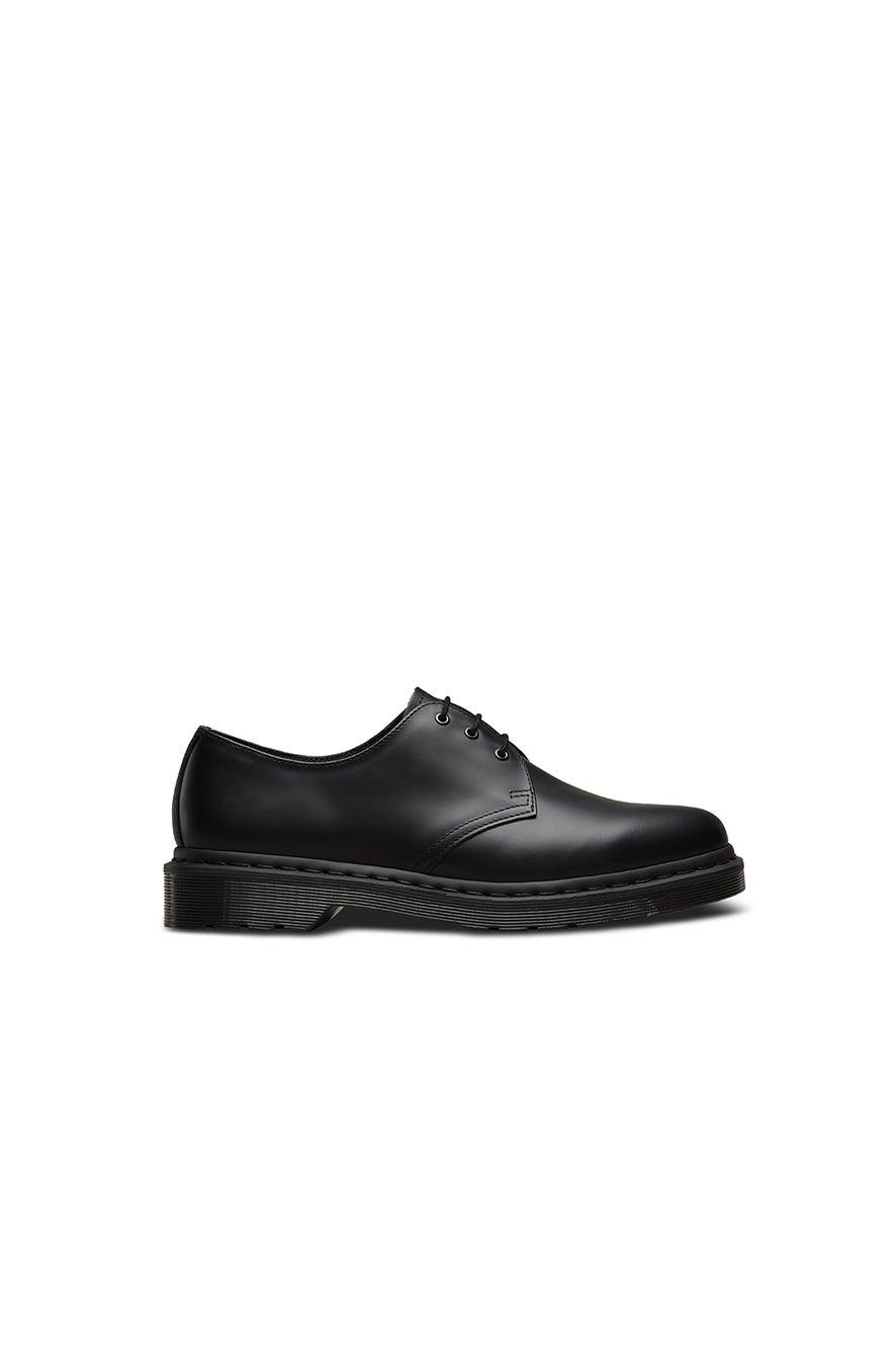 Dr. Martens 1461 Mono 3 Eye Shoe Smooth Black