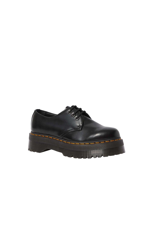 Dr. Martens 1461 Quad Platform Shoes Black