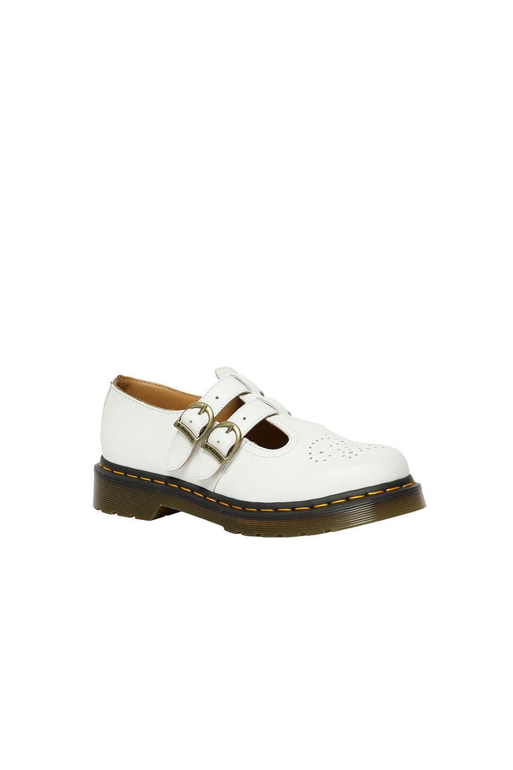 Dr. Martens 8065 2 Strap Mary Jane White