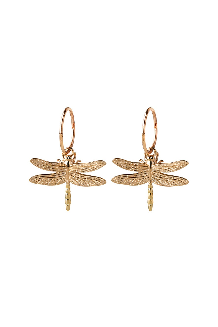 Dragonfly Sleepers Gold