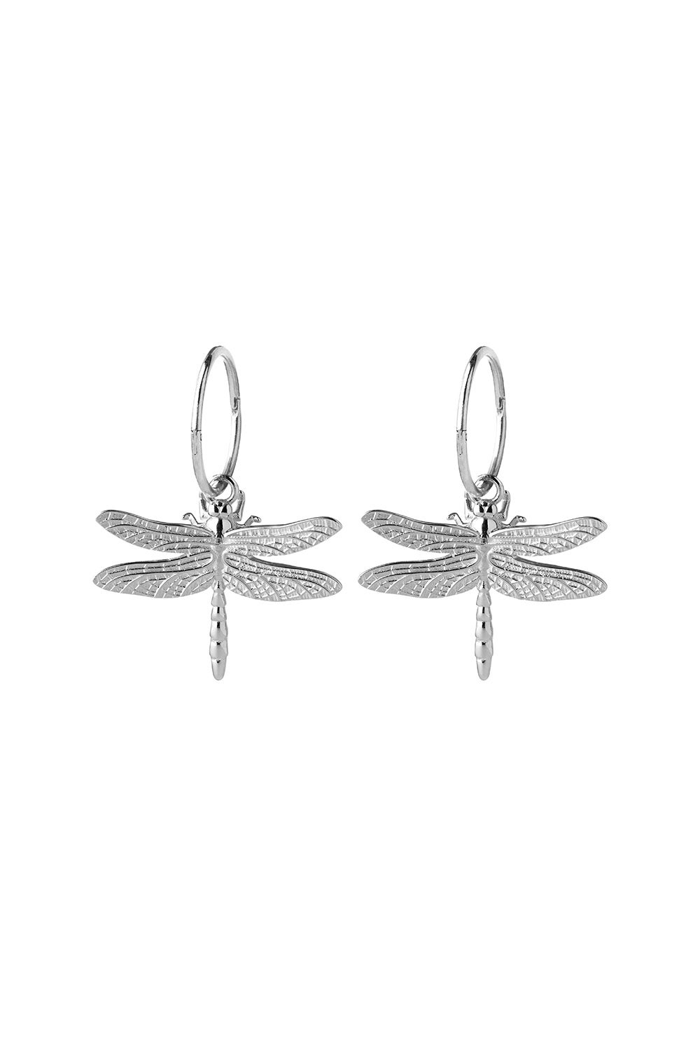 Dragonfly Sleepers Silver