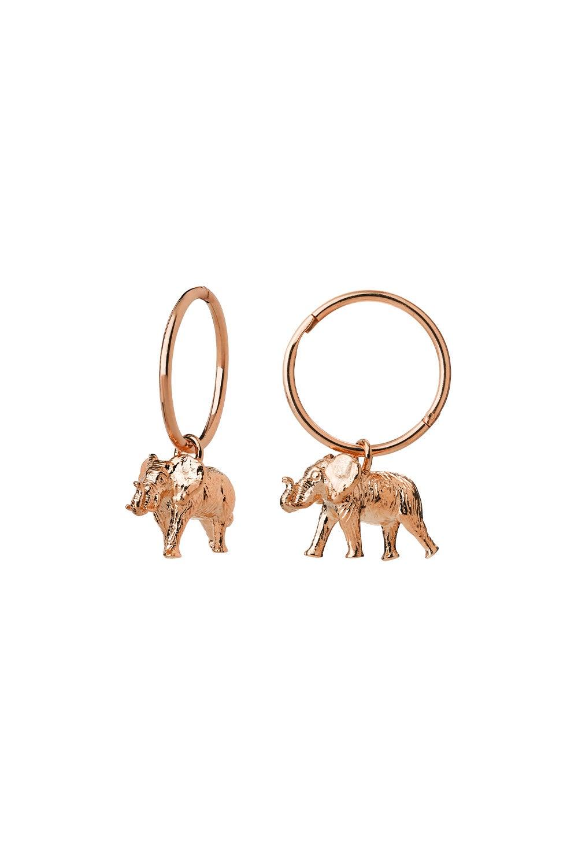 Elephant Sleepers Rose Gold