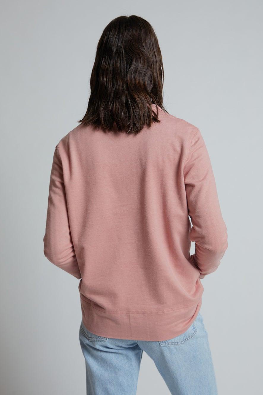 Embroidered K Monogram Organic Cotton Sweatshirt