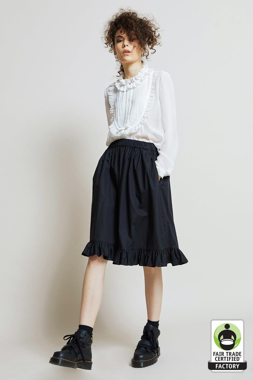 Organic Cotton Ruffle Skirt
