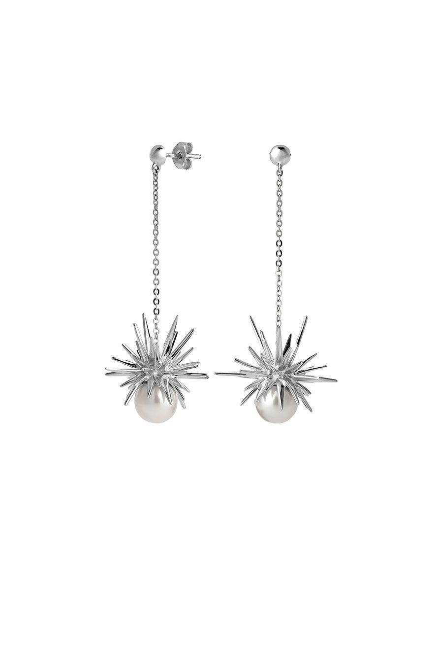 Forbidden Drop Earring Silver