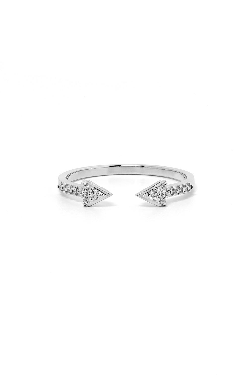 Forever Band, White Gold, White Diamond