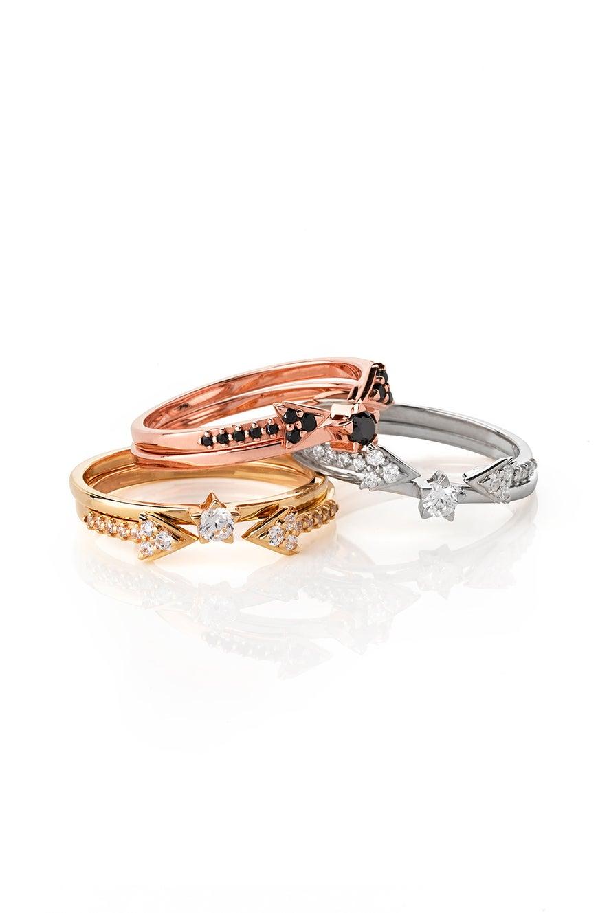 Forever Ring, Gold, White Diamond