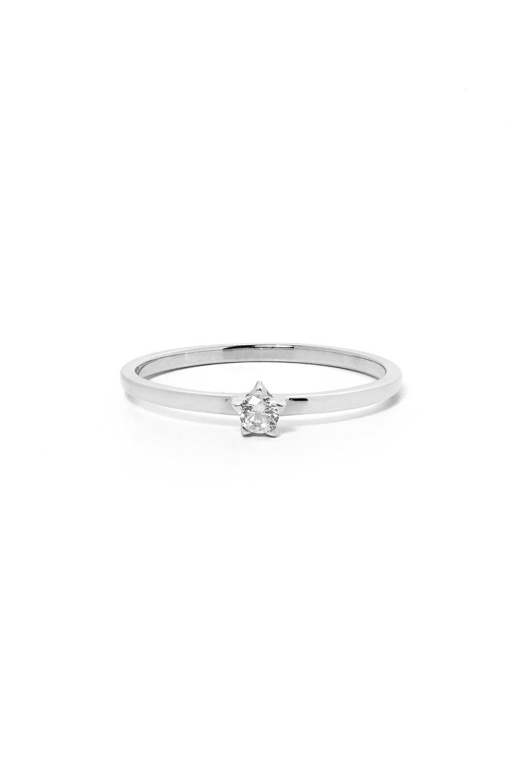Forever Ring, White Gold, White Diamond