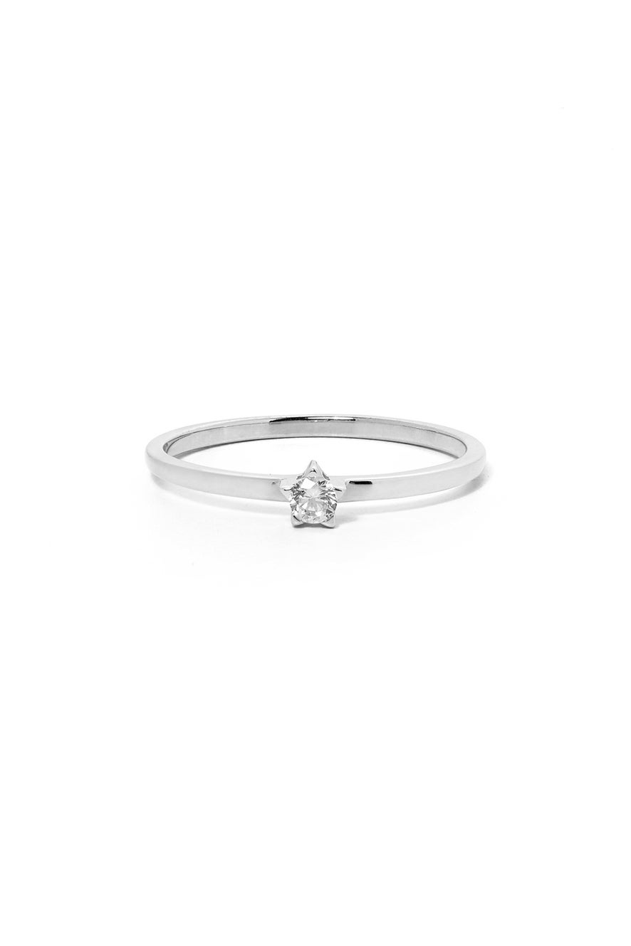 Forever Ring, White Gold, White Diamond