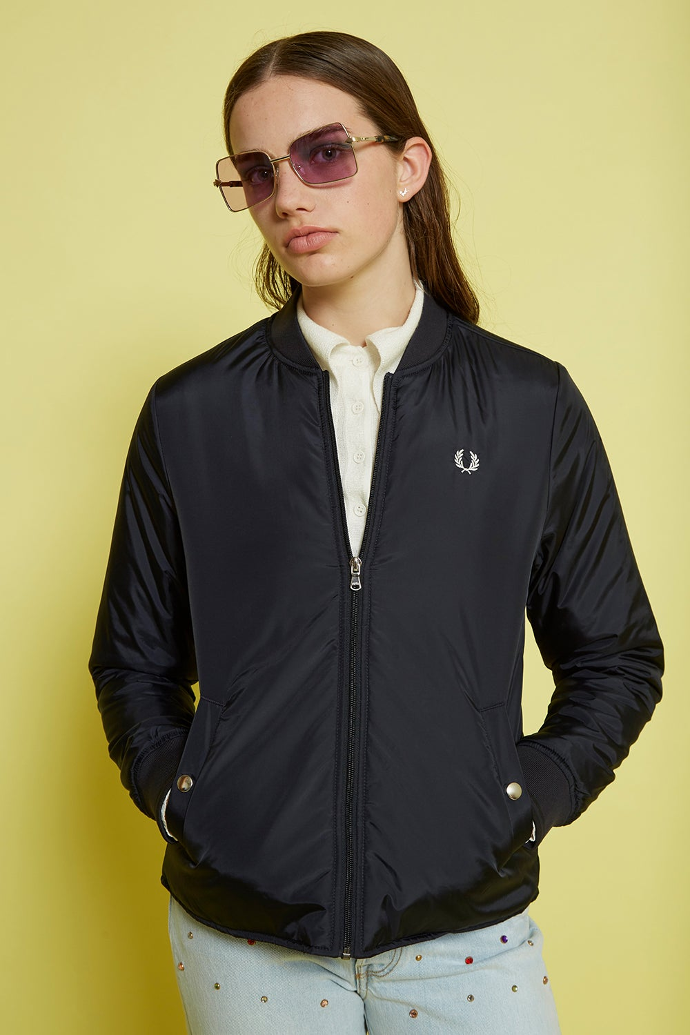 Fred Perry Lightweight Bomber Jacket