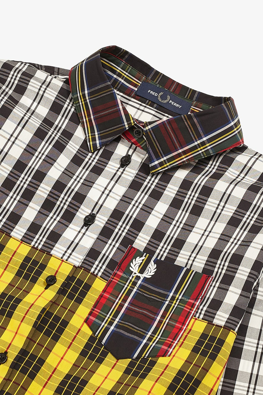Fred Perry Mixed Tartan Shirt