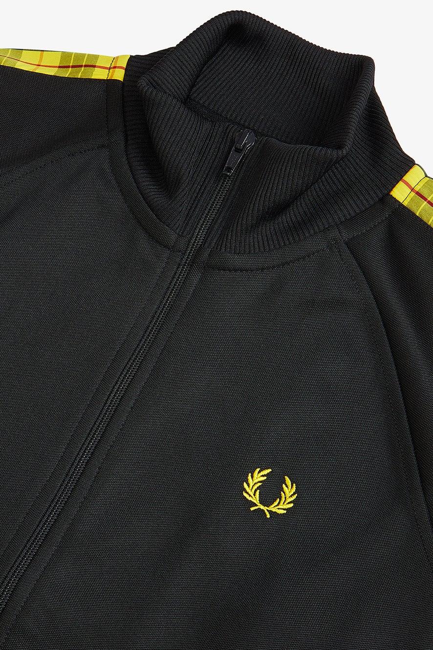 Fred Perry Tartan Laurel Wreath Track Jacket