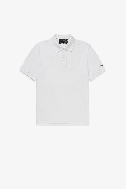 Fred Perry x Raf Simons Embroidered Sleeve Polo Shirt