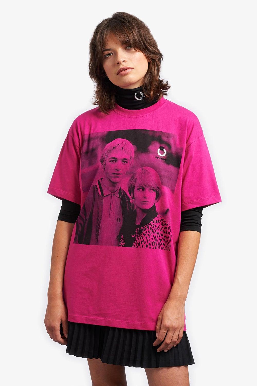 Fred Perry x Raf Simons Printed T-Shirt