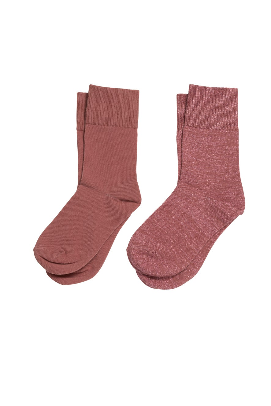 French Rose Socks 2 Pack