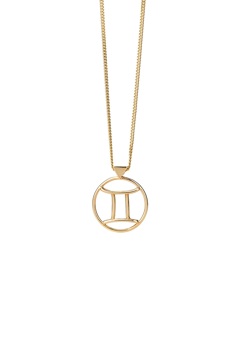 Gemini Necklace Gold