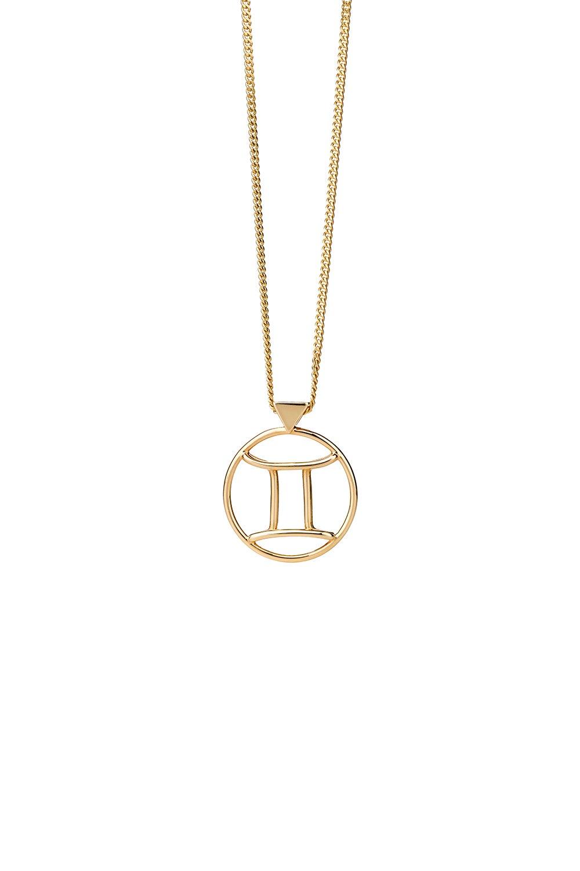 Gemini Necklace Gold
