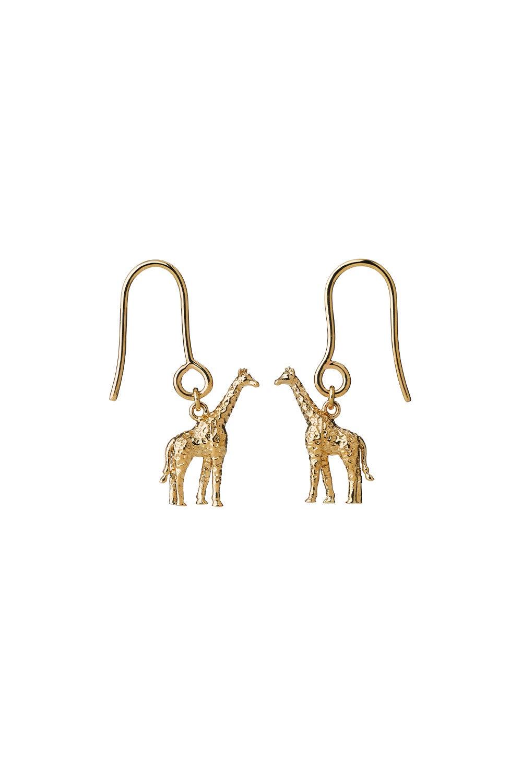 Giraffe Earrings Gold