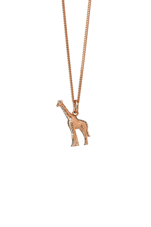 Giraffe Necklace Rose Gold