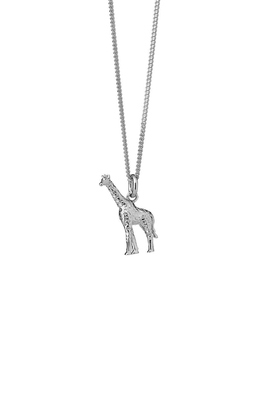 Giraffe Necklace Sterling Silver