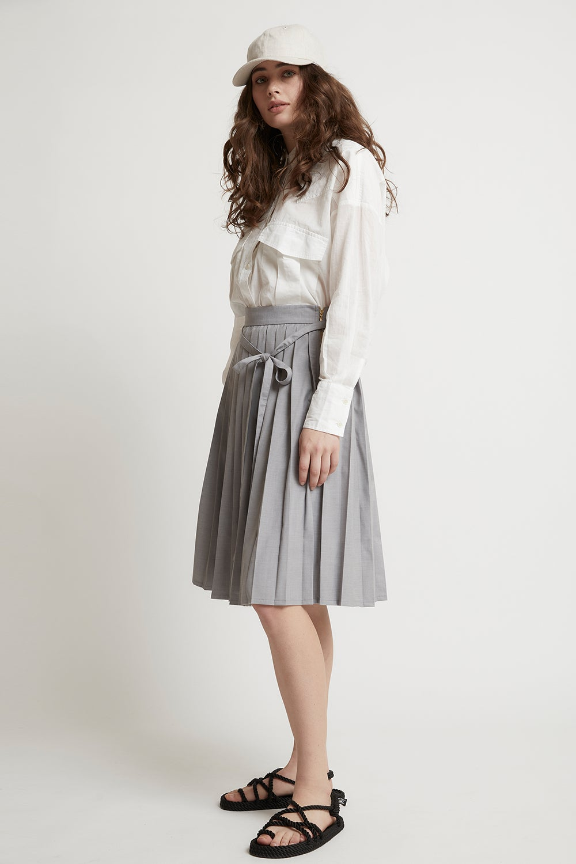 Heavenly Pleated Skirt