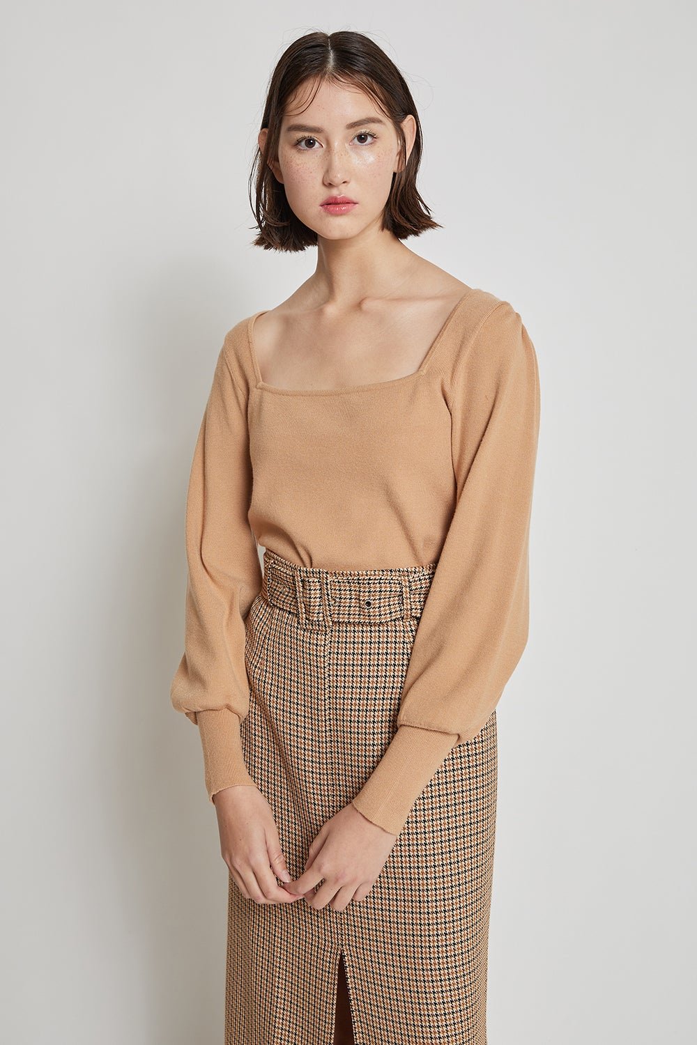 Hi There Fawn Knit