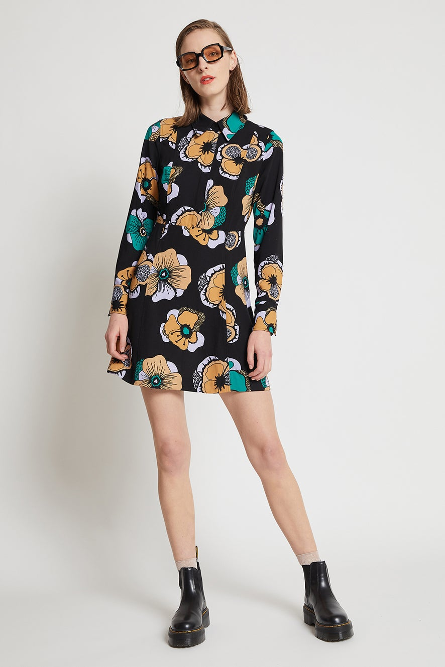 Hi There Flower Patch Dress