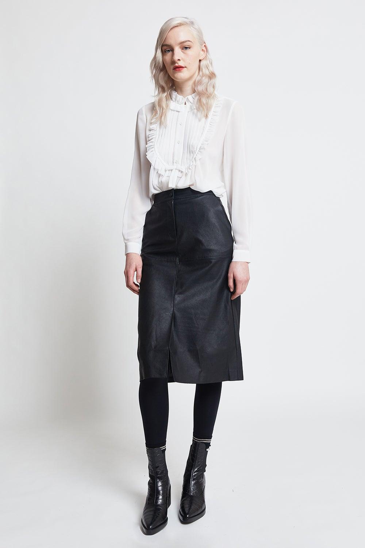 Hi There Midnight Midi Skirt