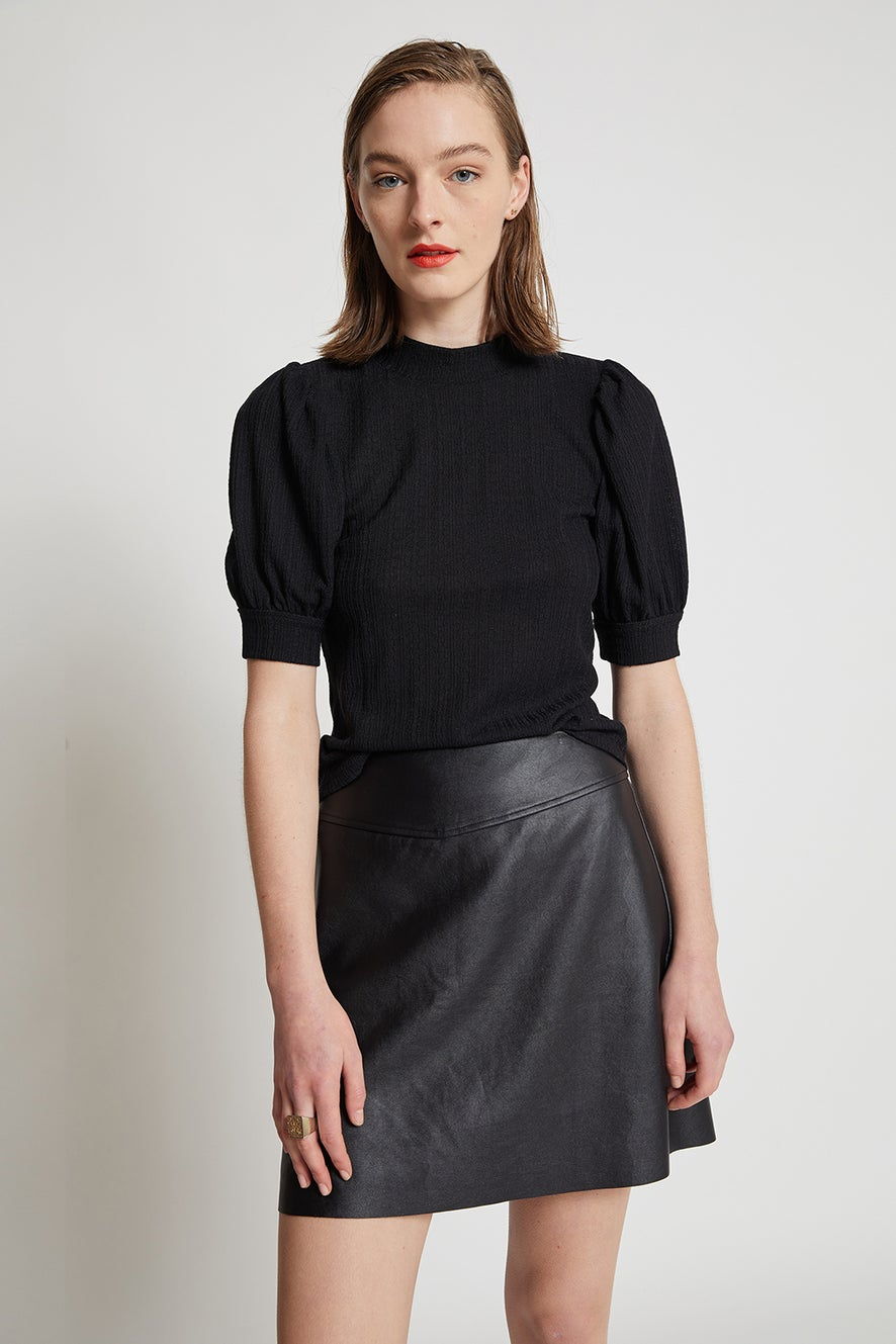 Hi There Midnight Skirt