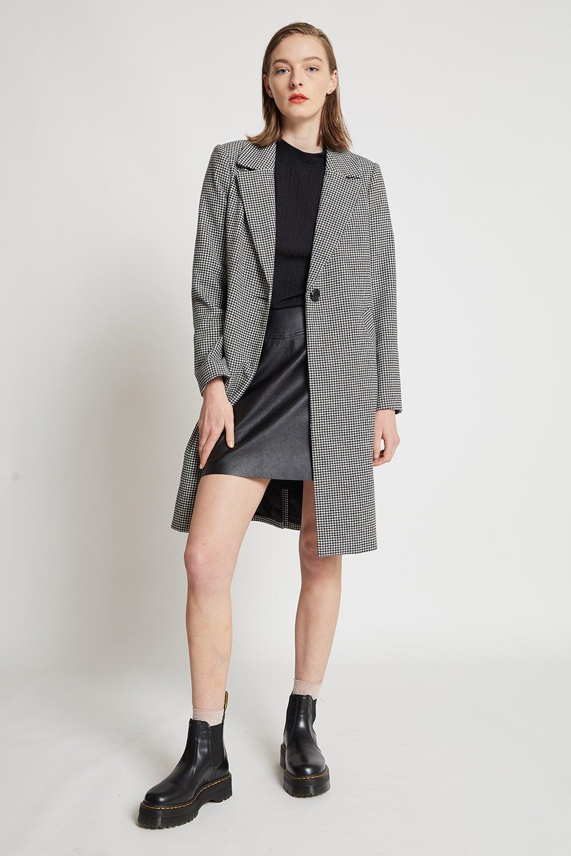 Hi There Mini Houndstooth Coat
