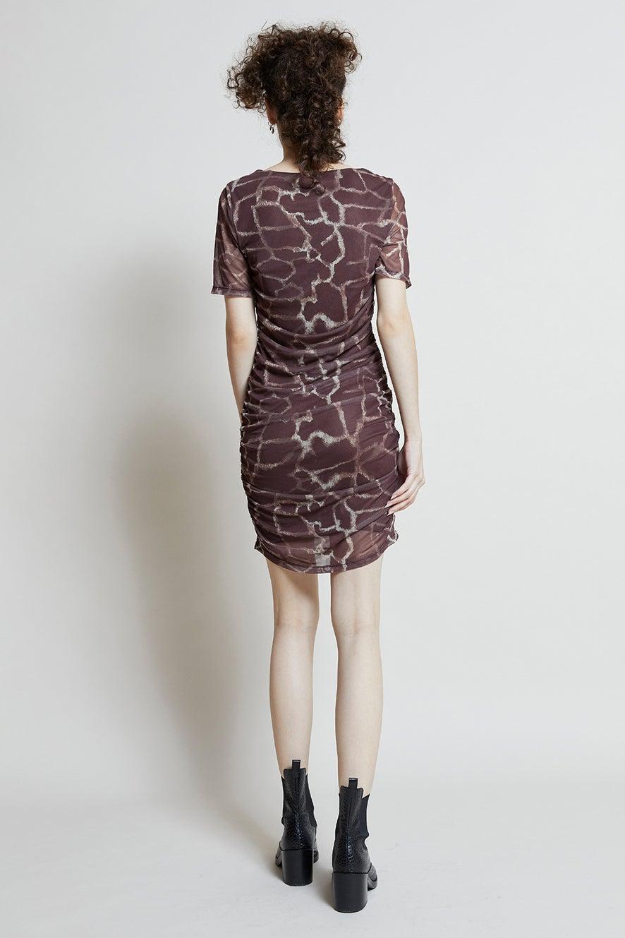 Hi There Savanna Mini Dress