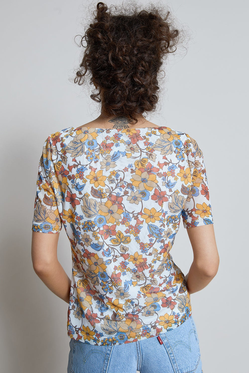 Hi There Treasure Floral Top